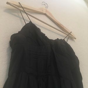 (2 for $20) Black Silk Dress